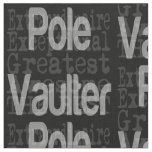 Pole Vaulter Extraordinaire Fabric