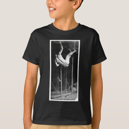 Pole Vaulter - Muybridge Vintage Photo 1885 T-Shirt