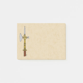 Poleaxe of Edward IV Post-it Notes