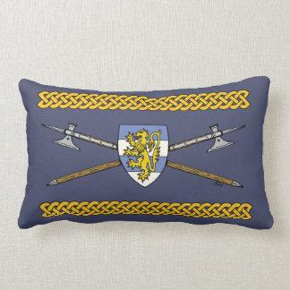 Poleaxes and Shield Lumbar Pillow