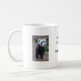Polecat ferret coffee mug