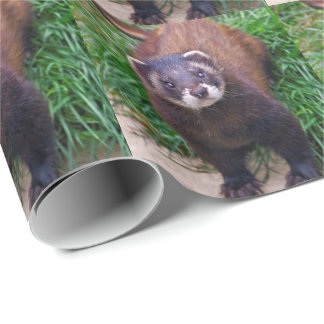 Polecat Wrapping Paper