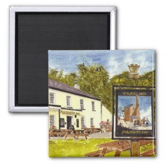 'Polgooth Inn' Magnet