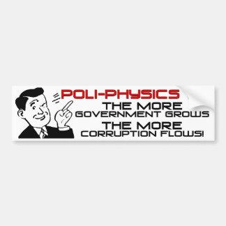 Poli-Physics 101 Bumper Sticker