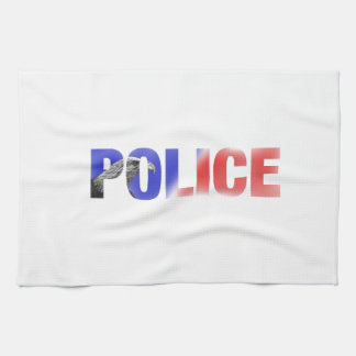 Police 2 kitchen towel