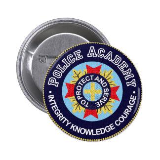 Police Academy 2 Inch Round Button