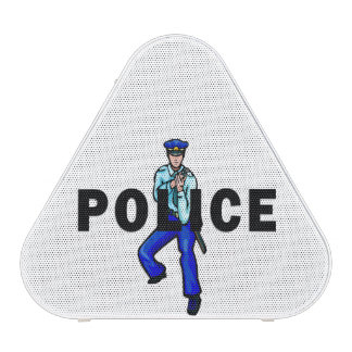 Police Action Logo Blueooth Speaker