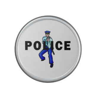 Police Action Logo Bluetooth Speaker
