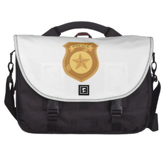 Police Badge Commuter Bags