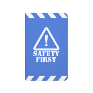 Police Blue Safety First Journal
