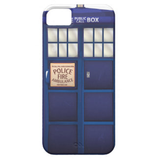 Police Box iPhone 5 Covers