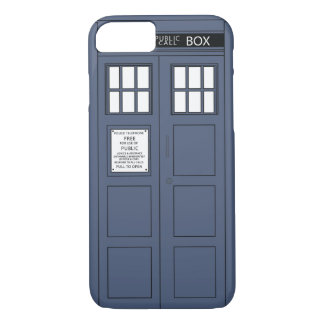 Police box phone cover