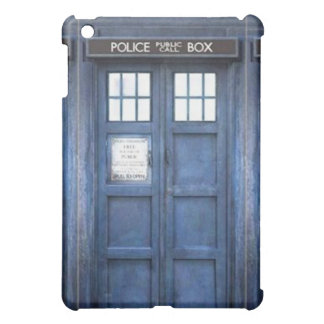 Police Call Box iPad Case