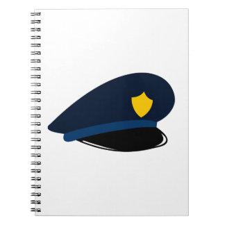 Police Cap Notebooks