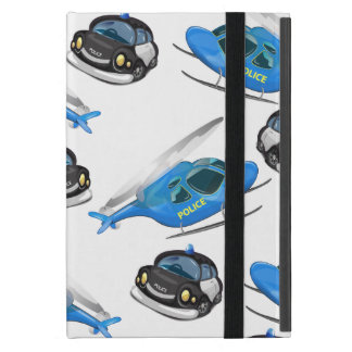 Police Car and helicopter iPad Mini Case