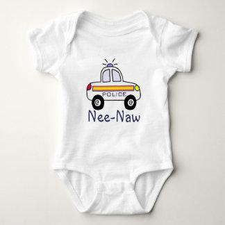 police car baby bodysuit