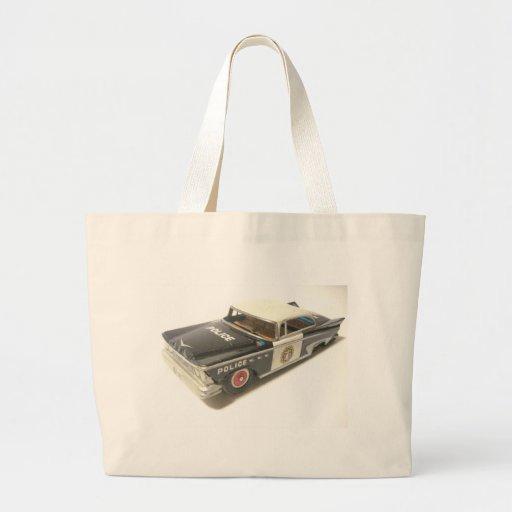 Police Car Canvas Bag