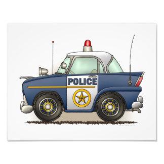 Police Car Police Crusier Cop Car Art Photo
