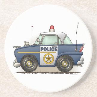 Police Car Police Crusier Cop Car Coaster