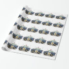 Police Car Police Crusier Cop Car Wrapping Paper