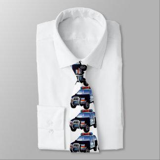 police car tie
