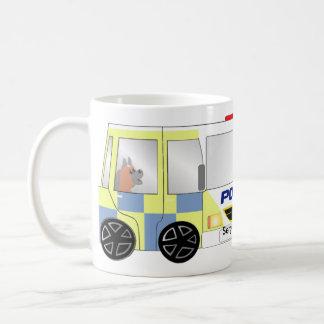 Police Car UK Coffee Mug