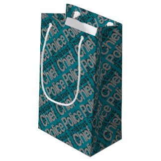 Police Chief Extraordinaire Small Gift Bag