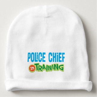 Police Chief In Training Baby Infant Beanie hat Baby Beanie