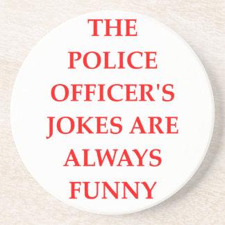 POLICE COASTERS