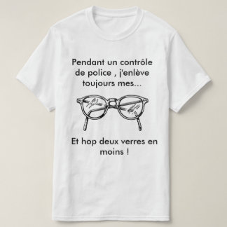 Police control T-Shirt