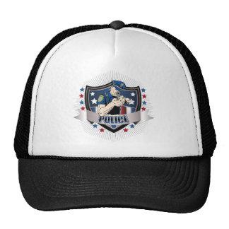 Police Crest Trucker Hat