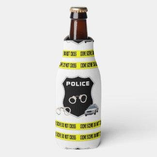 Police Crime Scene Bottle Cooler