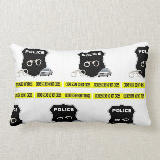Police Crime Scene Lumbar Pillow