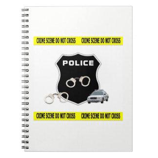 Police Crime Scene Notebook