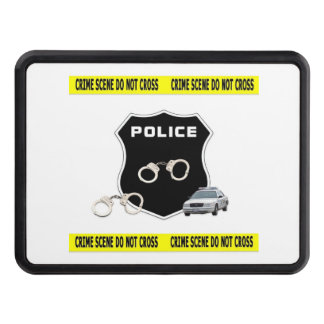 Police Crime Scene Tow Hitch Cover