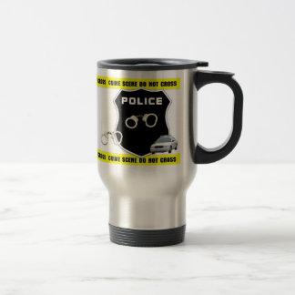 Police Crime Scene Travel Mug