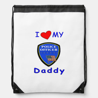 Police Dads Cinch Bags