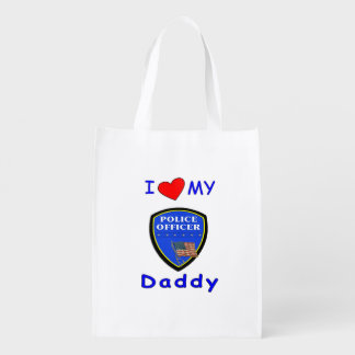 Police Dads Market Totes
