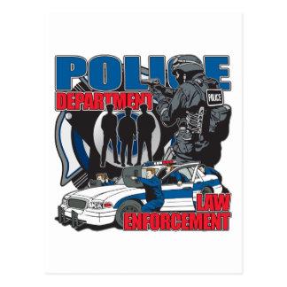 Police Department Postcard