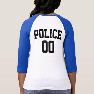 POLICE DEPARTMENT RAGLAN TSHIRT
