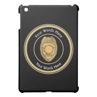 Police Detective Badge Universal iPad Mini Cover