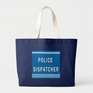 Police Dispatcher Canvas Bag