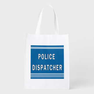 Police Dispatcher Grocery Bags