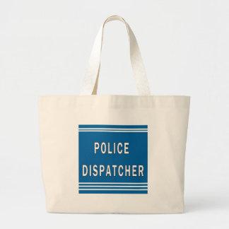 Police Dispatcher Jumbo Tote Bag