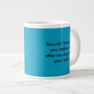 police dog cop funny mug