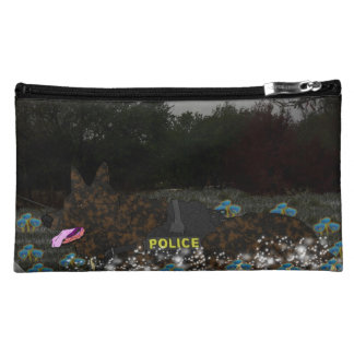 Police Dog Cosmetic Bags