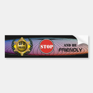 Police d'UFO de Roswell Autocollant De Voiture