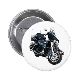 Police Edition Harley Davidson 2 Inch Round Button