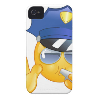 police emoji iPhone 4 cover