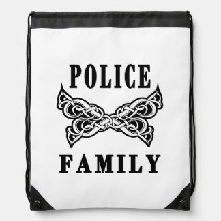 Police Family Tattoo Backpack